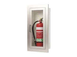 Introducing Checkpoint 6000 series architectural fire extinguisher cabinets