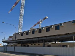 Ausco Modular provides construction site buildings for SAHMRI project