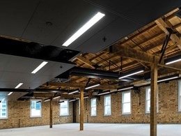 Office lighting solution highlights architectural features of refurbished heritage buildings