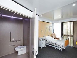 Hickory prototypes bathrooms for 2 global healthcare experts