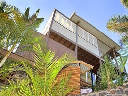 ARCPANEL's custom panels specified for beach house roof