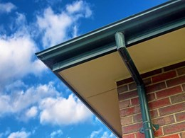 Mesh based gutter protection reducing maintenance