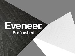 Monochrome sophistication with new Black and White prefinished timber veneers