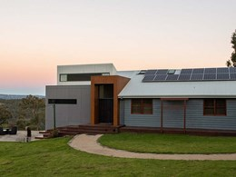 Cemintel Barestone connects Blue Mountains home to rugged bushland views