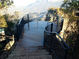 Stainform products help improve access and safety at Blue Mountains lookout project