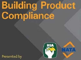 National seminars focus on specifying compliant and fit-for-purpose building products