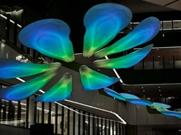 Striking atrium artwork at Perth Children's Hospital achieved through creative collaboration