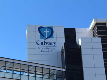 The Intensive Care Unit at the Calvary Public Hospital