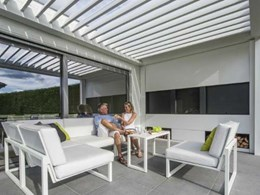 Camargue: Stylish louvered canopy for your outdoor space