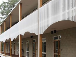 Balustrade system customised to architect's design for Carrington care centre club upgrade