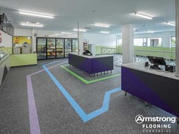Low maintenance and slip resistance prioritised in floor selection at Darwin college