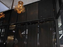 Challenging installation of timber venetian blinds at Chiara Baker Building