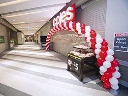 KRGS roller shutters, doors and steel shutters secure shops at new Revesby retail precinct