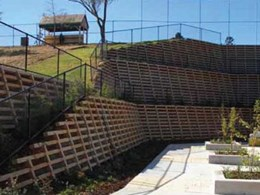 Concrib overcomes site challenges to design 10m retaining wall at Toowoomba School