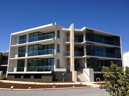 FormPro walls installed at modern Port Coogee apartments
