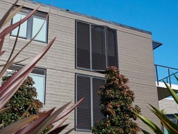 Cemintel Territory cladding captures beachside apartments' subtle nautical essence