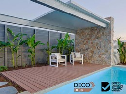 2020 Good Design Awards honour DecoDeck timber look aluminium decking