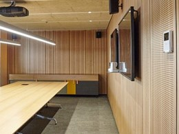 Acoustic timber panels for aesthetic walls and ceilings