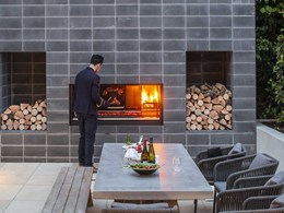 New Escea Fireplace Kitchen for outdoor cooking