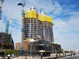 Building defects alleged at Elizabeth Quay towers