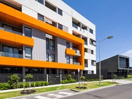 Exsulite-Kooltherm thermal facade system helps reduce construction times at Parkville Melbourne apartments