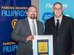 Flowcrete sponsors car park refurbishment category at 2015 Parking Industry Awards