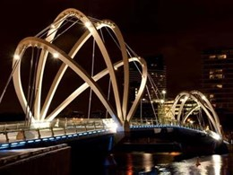 Embelton's tuned mass damper mitigates oscillation risk on Southbank pedestrian bridge