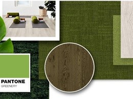 Godfrey Hirst rolls out the green carpet for Pantone Colour of the Year