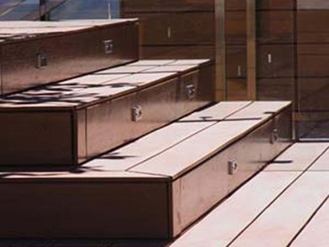 BioWood architectural reconstituted composite wood