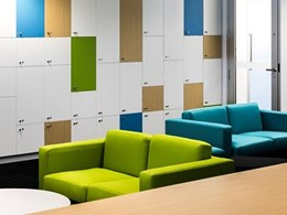 Tiles and screens specified for HAMBS fitout in Adelaide