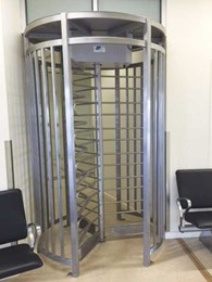 Regional airport installs Magnetic's full height turnstiles to minimise passenger overcrowding
