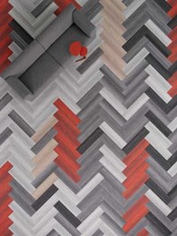 New carpet tile collection by Shaw explores colour in different environments