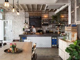 Richmond restaurant gets the Bauwerk Colour finish