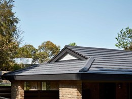 New house look achieved with Monier's Urban Shingle roof tiles during reroofing