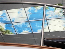 Indoorskies brings the outdoors into office and commercial spaces with innovative ceilings