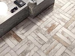 Get creative with tile lay patterns