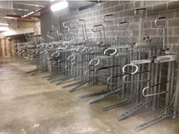 Bicycle racks installed at NSW Department of Education EOT facility