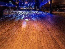 Luxury vinyl planks meet P4 slip rating at Fortitude Music Hall