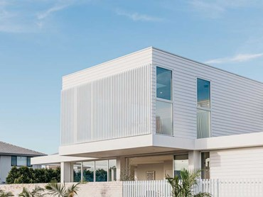 Brolga home featuring Linea weatherboards
