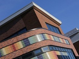 New building at Loughborough College features CORIUM brick cladding in 15 colours