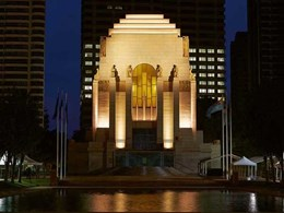 WE-EF luminaires light up ANZAC Memorial in Sydney's Hyde Park