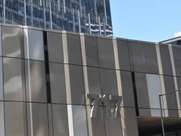MondoClad solid aluminium panels ensure compliance at Docklands office tower