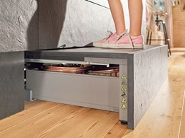SPACE STEP from Blum: Taking storage to the next level