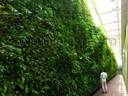5-metre Elmich vertical garden stars in National Gallery Singapore's rooftop garden