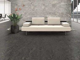 New rubber floor covering balances elegant design with extreme resilience