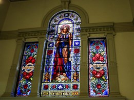 Restoration of historic stained glass at Sydney's Town Hall