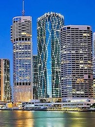 Nullifire selected for fire rating of 800+ structural steel columns at Brisbane high rise