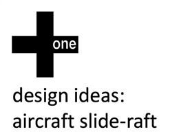 Design ideas - The aircraft slide raft