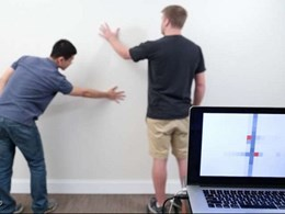 Turning walls into touchpads with a coat of paint