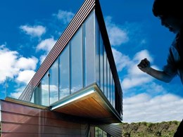Great views and privacy ensured with Capral systems at beachside home near Melbourne